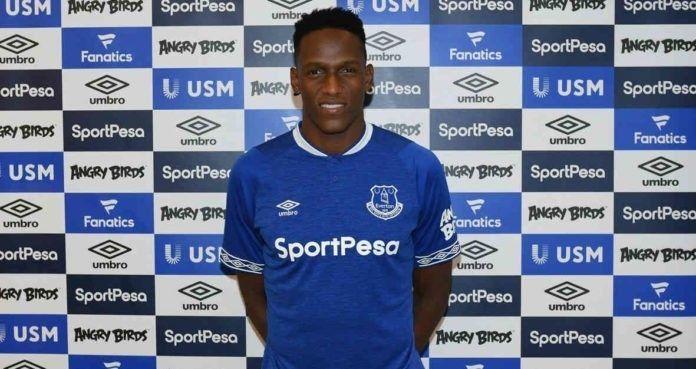 Yerry Mina ficha Everton