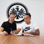 Rodrigo Zalazar, Eintracht Frankfurt