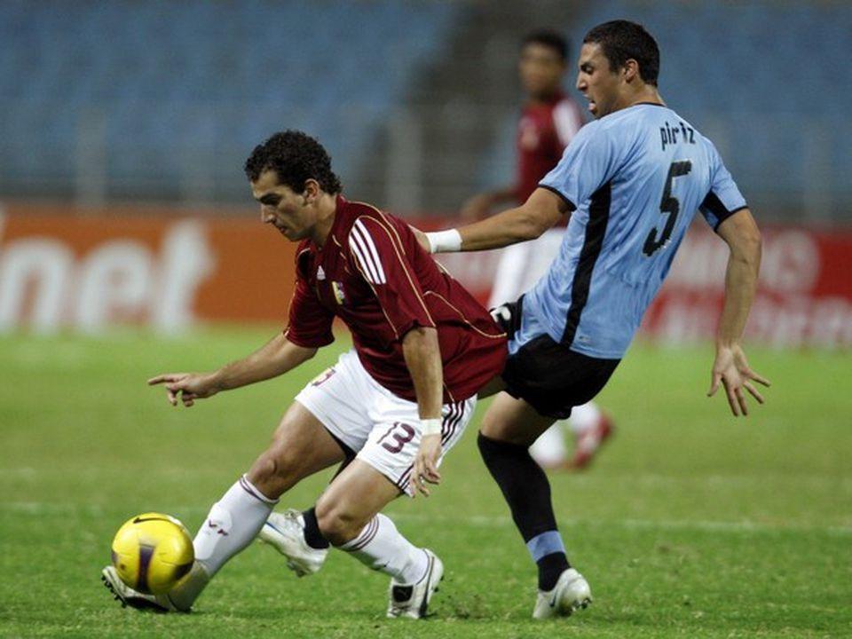 Facundo Píriz en la selección uruguaya