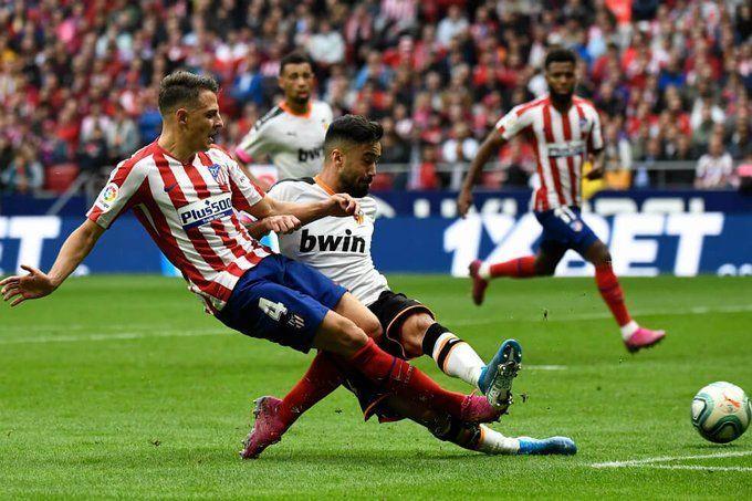 Santiago Arias, Atlético de Madrid, Valencia, Liga Santander, colombiano