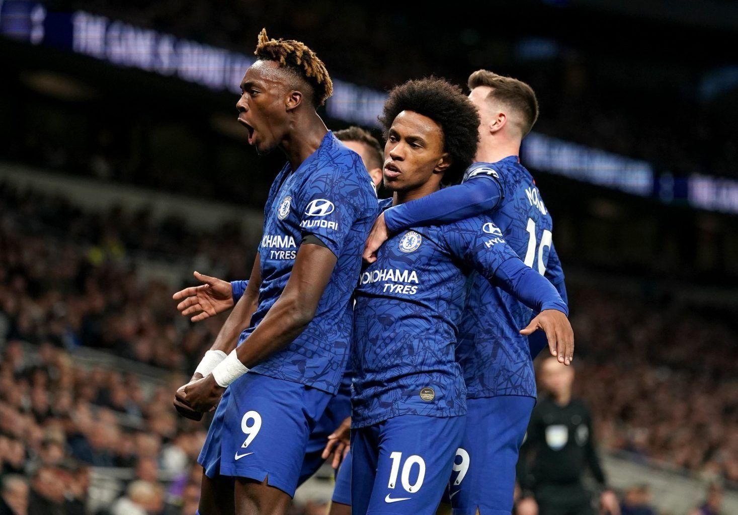 Willian, Chelsea, Lampard, Tottenham, Premier League, Mourinho, Moura, Sánchez, Gazzaniga