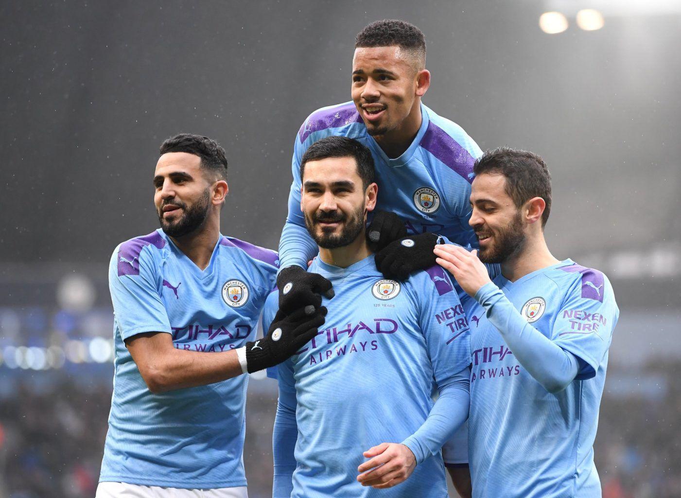 Gabriel Jesús, Sergio Kun Agüero, Manchester City, Fulham, FA Cup