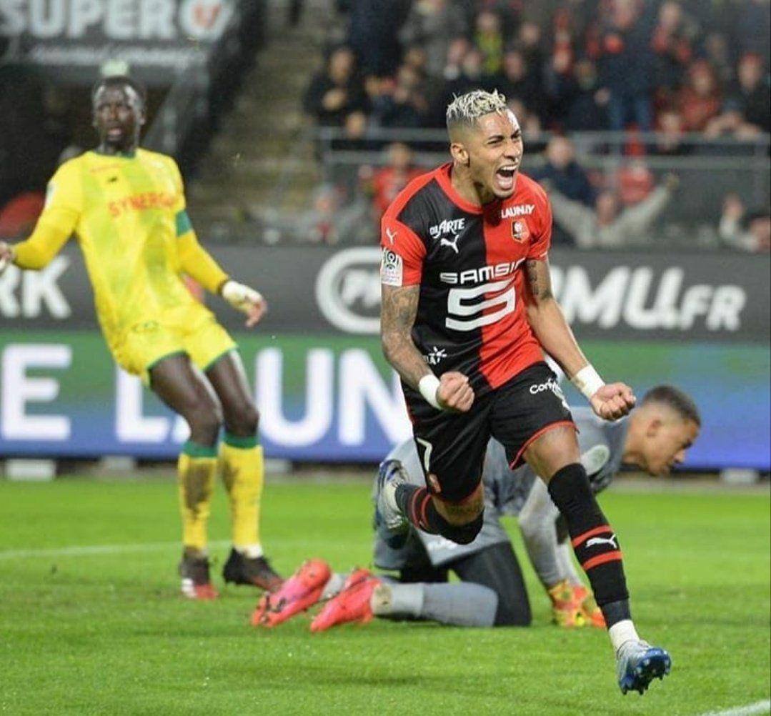 Raphinha, Stade Rennais, Nantes, Ligue 1, Sporting de Lisboa, Rennes