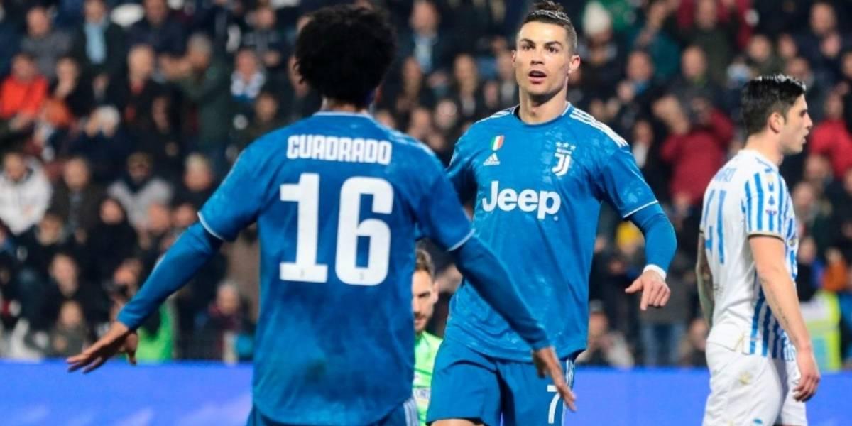 Juan Cuadrado, Paulo Dybala, Cristiano Ronaldo, Juventus, SPAL, Serie A