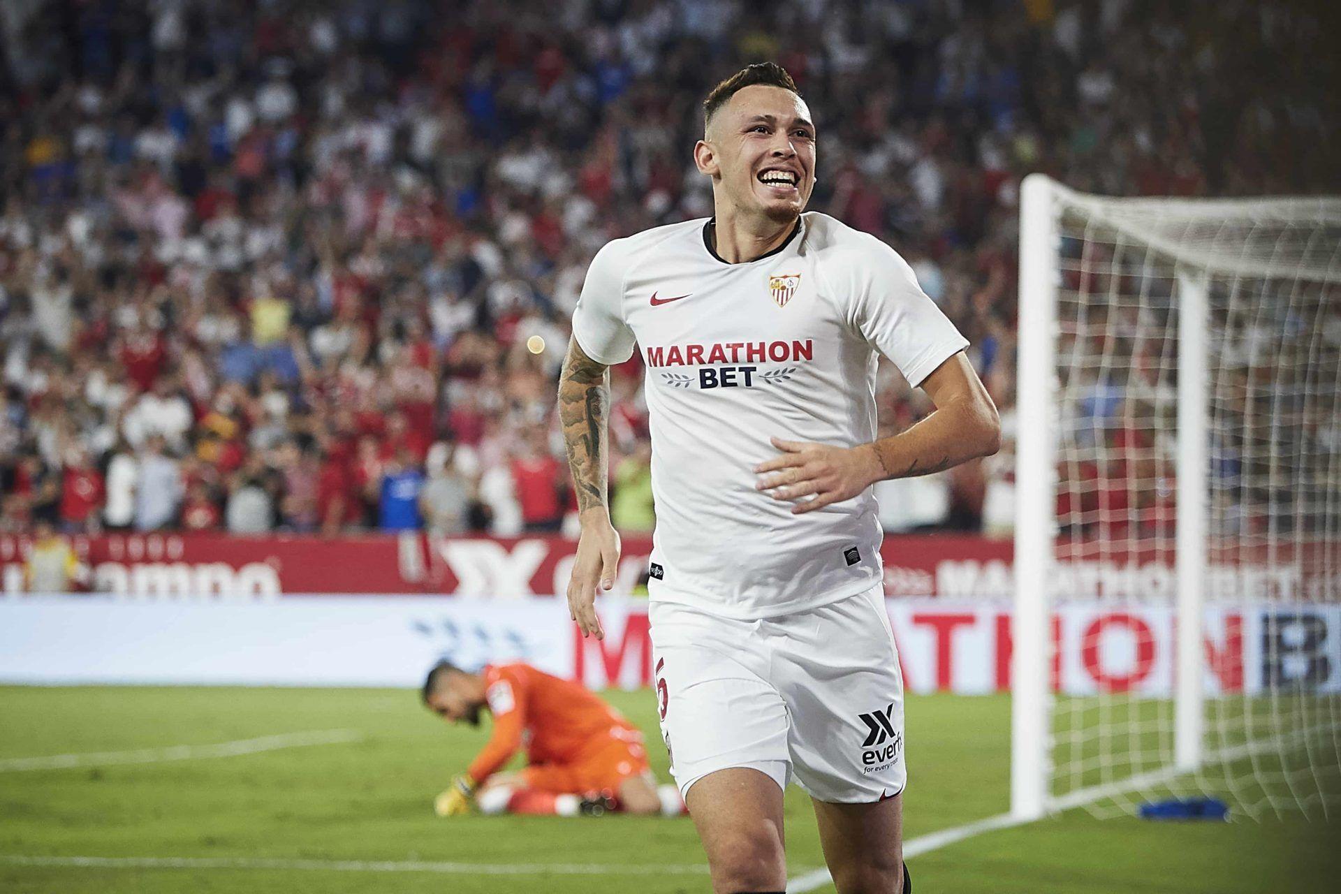 Lucas Ocampos, Sevilla, Monchi, Olympique de Marsella, Selección de Argentina, Copa América