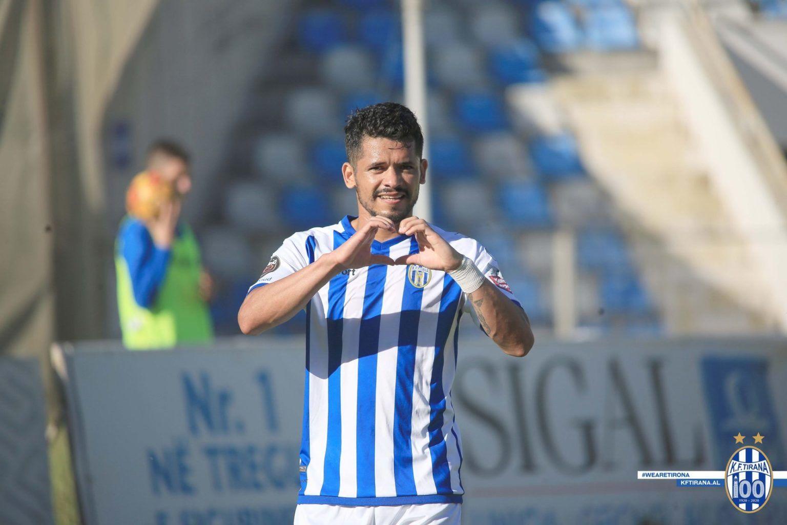 Élton Cale, Agustín Torassa, KF Tirana, Copa de Albania, Beselidhja