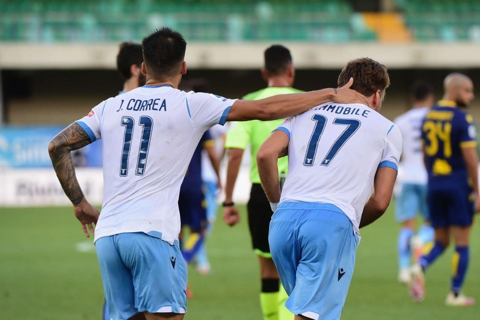 Joaquín Correa, Lazio, Serie A, Hellas Verona