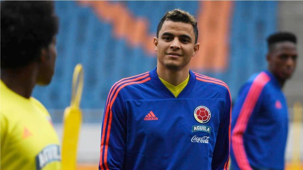 Gio Moreno Selección Colombia